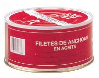 Filete de Anchoas en aceite